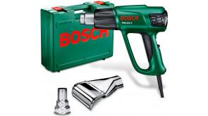 Технический фен Bosch PHG 600-3 в чемодане с 2 соплами