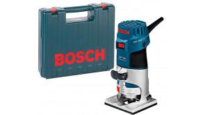 Фрезер кромковий Bosch Professional GKF 600 SET у чемодані