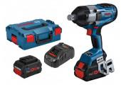Акумуляторний ударний гайковерт Bosch GDS 18V-1050 H Professional у L-Boxx із 2 акб ProCore 18V 8.0Ач і з/п GAL 1880 CV