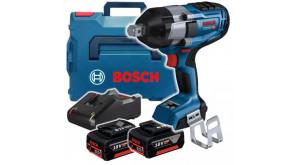 Акумуляторний ударний гайковерт Bosch GDS 18V-1050 H Professional у L-Boxx із 2 акб GBA 5.0Ач і з/п GAL 18V-40