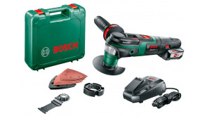 Багатофункціональний інструмент Bosch AdvancedMulti 18 в чемодані з 1 акб PBA 18V 2.5 Ah W-B та з/п AL 1830 CV