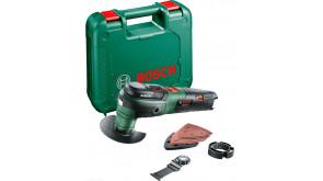 Багатофункціональний інструмент Bosch UniversalMulti 12 в чемодані з 1 акб 12 В, 2,5 Ah та з/п AL1130 CV