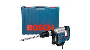 Отбойный молоток Bosch GSH 5 CE в чемодане с пикообразным зубилом