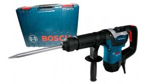 Отбойный молоток Bosch GSH 501 SDS-Max в чемодане с пикообразным зубилом