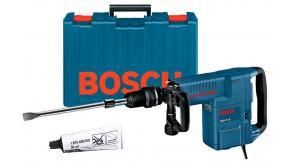 Відбійний молоток Bosch GSH 11 E в чемодані з плоским зубилом