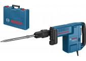 Відбійний молоток Bosch Professional GSH 11 E в чемодані з пікоподібним зубилом
