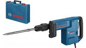 Відбійний молоток Bosch GSH 11 E в чемодані з пікоподібним зубилом
