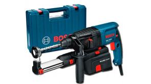 Перфоратор Bosch Professional GBH 2-23 REA з системою пиловидалення в чемодані