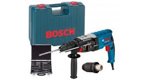 Перфоратор Bosch GBH 2-28 F Professional в чемодані з ШЗП та набором SDS-plus Mixed Set