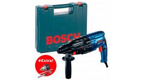 Перфоратор Bosch Professional GBH 240 в чемодані з ключовим патроном з адаптером