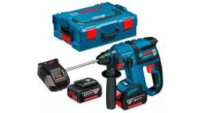 Перфоратор акумуляторний Bosch GBH 18 V-EC Professional в L-Boxx 136 з  2 акб GBA 18V 4.0Ah та з/п AL 1860 CV