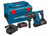 Перфоратор акумуляторний Bosch GBH 36 V-Li Plus Professional в L-Boxx 238 з 2 акб GBA 36V 4.0Ah та з/п
