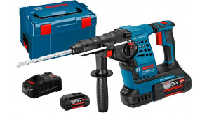 Перфоратор акумуляторний Bosch GBH 36 VF-Li Plus Professional в L-Boxx 238 с 2 акб GBA 36V 4 Ah и з/у
