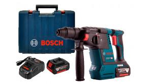 Перфоратор акумуляторний Bosch GBH 18V-26 в чемодані з 2 акб GBA 18 В 6 Ah та з/п GAL 1880 CV