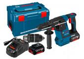 Перфоратор акумуляторний Bosch Professional GBH 18V-26 F в L-Boxx 238 з 2 акб GBA 18V 5 Ah та з/п GAL 1880 CV