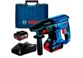 Акумуляторний безщітковий перфоратор Bosch Professional GBH 180-Li в чемодані, 2 акб GBA 18V 4.0Ah та з/п GAL 18V-40