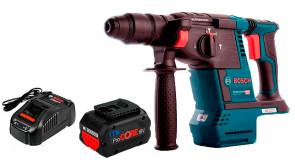 Перфоратор акумуляторний Bosch Professional GBH 18V-26 в картоні з 1 акб ProCORE18V 8.0Ah та з/п GAL 1880 CV