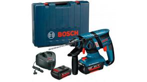 Перфоратор акумуляторний Bosch GBH 36 V-EC Compact в чемодані з 2 акб GBA 36V 1.3Ah та з/п AL 3640 CV