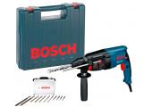 Перфоратор Bosch GBH 2-26 DRE Professional в чемодані з набором 11 бурів