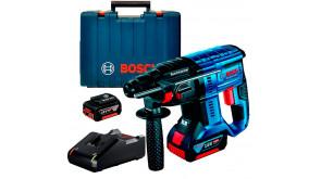 Акумуляторний безщітковий перфоратор Bosch GBH 180-Li в чемодані, 2 акб GBA 18V 4.0Ah та з/п GAL 18V-40
