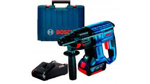 Акумуляторний безщітковий перфоратор Bosch Professional GBH 180-Li в чемодані, 1 акб GBA 18V 4.0Ah та з/п GAL 18V-40