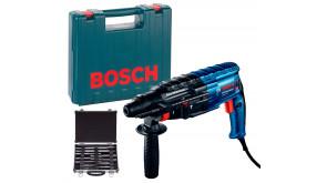 Перфоратор Bosch GBH 240 Professional в чемодані з набором SDS-Plus