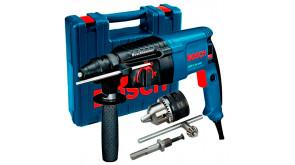 Перфоратор Bosch Professional GBH 2-26 DRE в чемодані з зубчастим патроном з SDS-plus адаптером