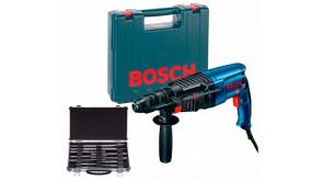 Перфоратор Bosch Professional GBH 2-26 DFR в чемодані з ШЗП та набором 11 бурів