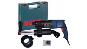 Перфоратор Bosch GBH 2-26 DRE в чемодані з насадкою пиловидалення GDE 16 Plus