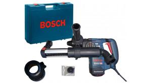 Перфоратор Bosch GBH 3-28 DRE Professional в чемодані з насадкою пиловидалення GDE 16 Plus