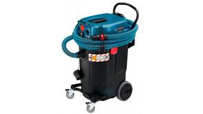 Строительный пылесос Bosch GAS 55 M AFC с насадкой для пола и щелевой насадкой
