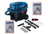 Пилосос Bosch Professional GAS 12-25 PL із 2 багаторазовими мішками