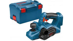 Рубанок акумуляторний Bosch GHO 18 V-LI Professional в L-BOXX 238, без акб та з/п