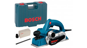 Рубанок Bosch GHO 26-82 Professional в чемодані з запасним ножем, паралельним упором, пилозбірником
