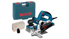 Рубанок Bosch GHO 40-82 C Professional в чемодані з паралельним упором, обмежувачем глибини, ножем, пилозбірником
