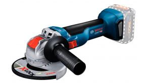 Акумуляторна кутова шліфмашина Bosch GWX 18V-10 Professional без акб та з/п