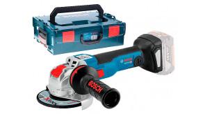 Болгарка акумуляторна Bosch GWX 18V-10 C в L-Bosxx 136 без акб та з/п