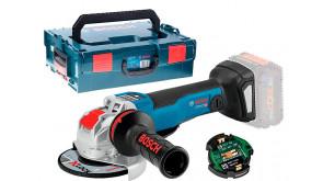 Болгарка акумуляторна Bosch GWX 18V-10 PSC з регулюванням в L-Boxx 136 без акб та з/п