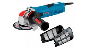 Кутова шліфмашина Bosch GWX 13-125 S Professional з регулюванням, з пилозахисним фільтром