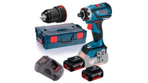 Акумуляторний шурупокрут Bosch GSR 18V-60 FC в L-Boxx 136 з 2 акб GBA 18V 5.0Ah та з/п GAL 1880 CV