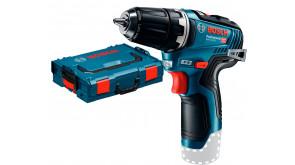 Безщітковий акумуляторний дриль-шурупокрут Bosch GSR 12V-35 в L-Boxx 102, без акб та з/п