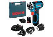 Акумуляторний шурупокрут Bosch Professional GSR 12V-15 FC в чемодані з 2 акб GBA 12V 2,0 Ah та з/п GAL 12V-40