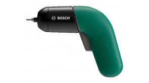 Акумуляторна викрутка Bosch IXO VI в футлярі з набором насадок та з/п