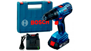 Акумуляторний дриль-шурупокрут Bosch Professional GSR 180-Li в чемодані з 1 акб 18V 2 Ah та з/п GAL 18V-20