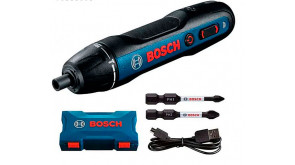 Акумуляторна викрутка Bosch GO 2 Professional в коробці з 2 ударними бітами