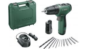 Акумуляторний дриль-шурупокрут Bosch EasyDrill 1200 в чемодані з 2 акб PBA 12V 1.5Ah O-A та з/п GAL 1210 CV