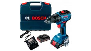 Акумуляторний дриль-шурупокрут Bosch GSR 18V-50 Professional в  L-Case з 2 акб 2 Ah та з/п GAL 18V-20