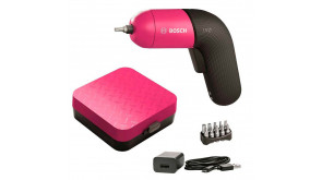 Акумуляторна викрутка Bosch IXO VI Colour в футлярі з набором насадок та з/п