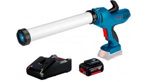 Акумуляторний пістолет для герметиків Bosch Professional GCG 18V-600 з 1 акб GBA 18V 4.0Ah, з/п GAL 18V-40, в картоні