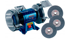 Точило Bosch Professional GBG 60-20 з 3 кругами зерном 24, 36, 60
